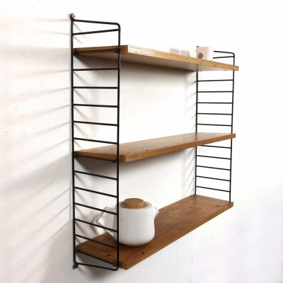String wall unit from the fifties by Nisse Strinning for String Design AB