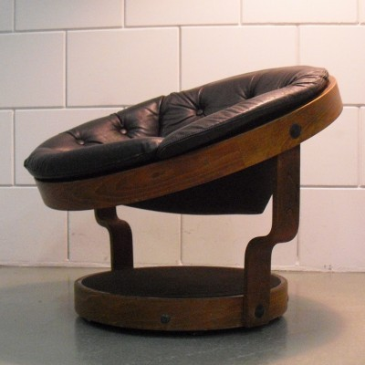 Convair lounge chair from the seventies by Oddmund Vad for VAD Trævarefabrik