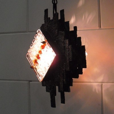 Hanging lamp from the seventies by Sergio Mazza for Poliarte