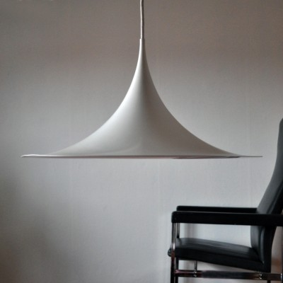 Semi / Trumpet hanging lamp by Claus Bonderup & Torsten Thorup for Fog & Mørup, 1960s