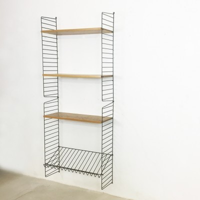 2 String wall units from the sixties by Nisse Strinning for String Design AB