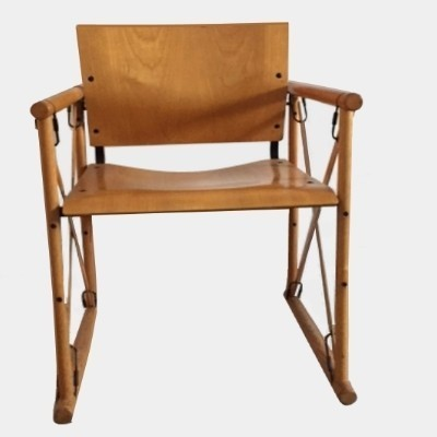 6 arm chairs from the seventies by unknown designer for unknown producer