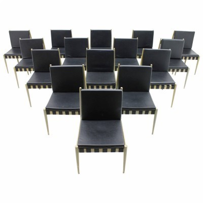 60x Egon Eiermann 'Model SE 121' Dining Room Chairs for Wilde & Spieth, Germany 1964