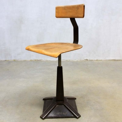 Stool from the thirties by unknown designer for Singer