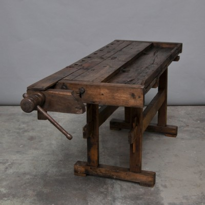 Work Bench from the twenties by unknown designer for unknown producer
