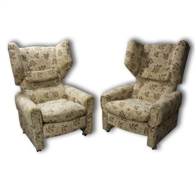 Set of 2 arm chairs from the eighties by unknown designer for unknown producer