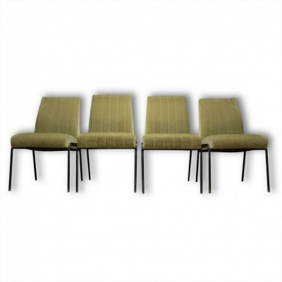 Set of 4 lounge chairs from the fifties by unknown designer for unknown producer