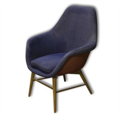 Lounge chair from the fifties by Miroslav Navrátil for unknown producer