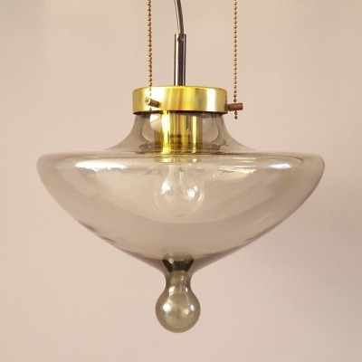 Chaparral hanging lamp from the sixties by unknown designer for Raak Amsterdam