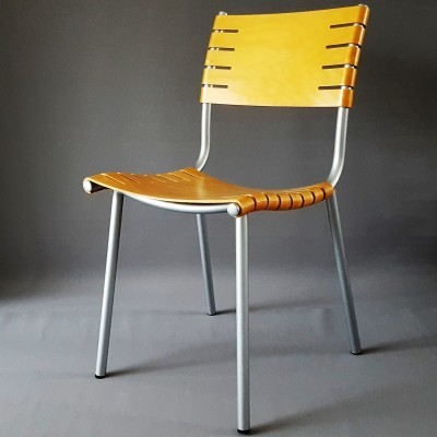 3 dinner chairs from the seventies by Ruud Jan Kokke for Harvink