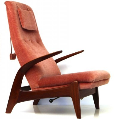 Rock n rest lounge chair from the fifties by Adolf Relling & Rolf Rastad for Arnestad Bruk