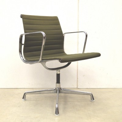 3 EA107 office chairs from the fifties by Charles & Ray Eames for Herman Miller