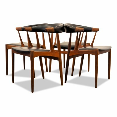 Set of 4 BA 113 dinner chairs from the sixties by Johannes Andersen for Andersens Møbelfabrik AS