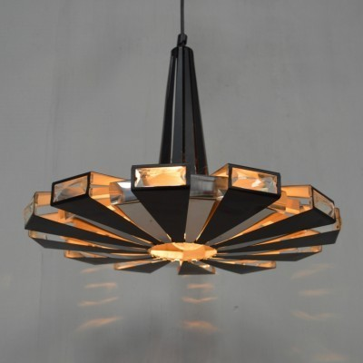 Hanging lamp by Werner Schou for Coronell Elektro Denmark, 1950s