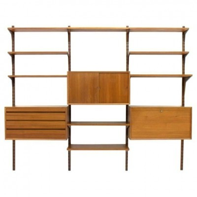 Wall unit from the sixties by Poul Cadovius for Cado