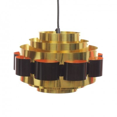 Hanging lamp from the sixties by Werner Schou for Coronell Elektro Denmark