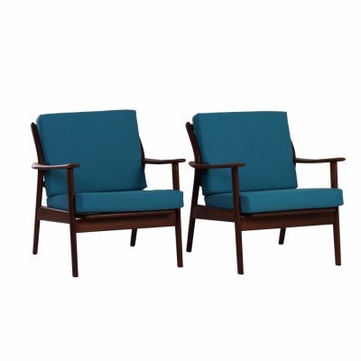 Set of 2 arm chairs from the fifties by unknown designer for Gelderland