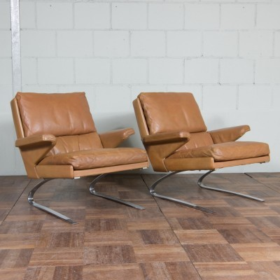 Set of 2 Swing lounge chairs from the sixties by Reinhold Adolf & Hans Jürgen Schröpfer for COR