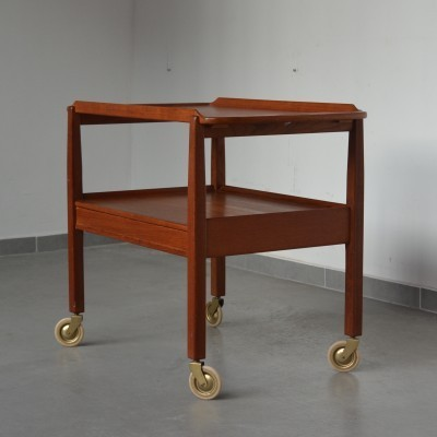 Trolley serving trolley by Sven Engström & Gunnar Myrstrand for Tingströms, 1950s