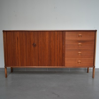 Tambour sideboard by William Watting for Fristho, 1950s
