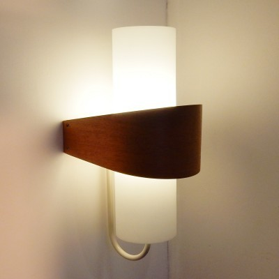 4 NX40 wall lamps from the sixties by Louis Kalff for Philips