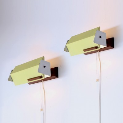 Set of 2 Sconces wall lamps from the fifties by Floris H. Fiedeldij for Artimeta