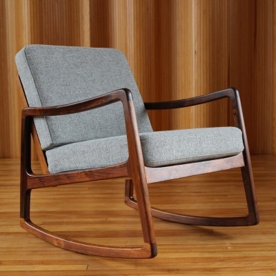 FD120 rocking chair from the fifties by Ole Wanscher for France & Son