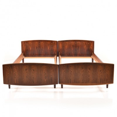 Double Bed from the sixties by unknown designer for unknown producer