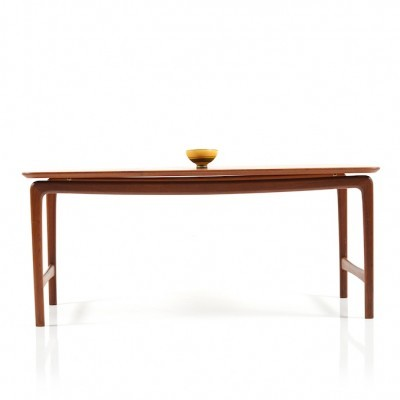 Coffee table by Peter Hvidt & Orla Mølgaard Nielsen for France & Daverkosen, 1950s