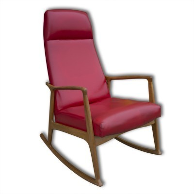 Vintage rocking chair, 1950s
