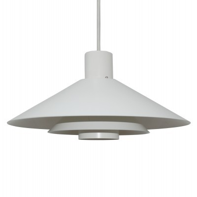 Trapez hanging lamp from the sixties by Christian Hvidt for Nordisk Solar