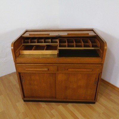 Bankers Money Chest chest of drawers from the fifties by unknown designer for unknown producer