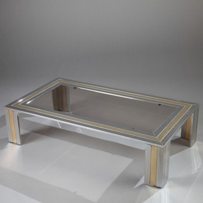 Coffee table from the seventies by Romeo Rega for unknown producer