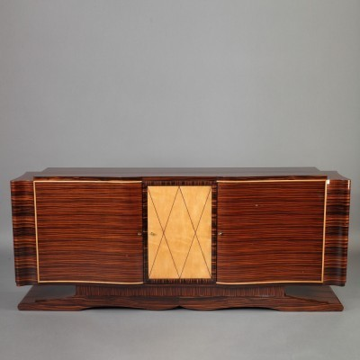 Sideboard from the fifties by André Domin & Marcel Genevrière for Maison Dominique