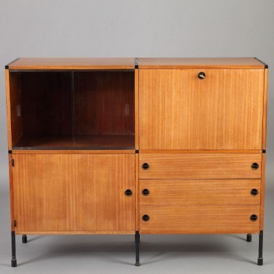 Sideboard from the fifties by Atelier de Recherches Plastiques for Minvielle