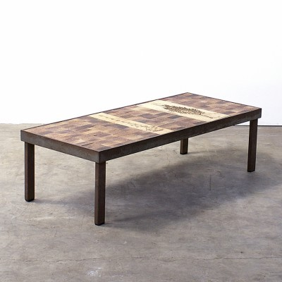 Coffee table by Roger Capron for Capron, 1950s
