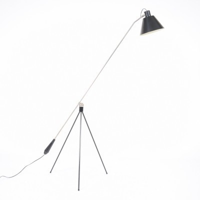 Magneto floor lamp from the fifties by H. Fillekes for Artiforte