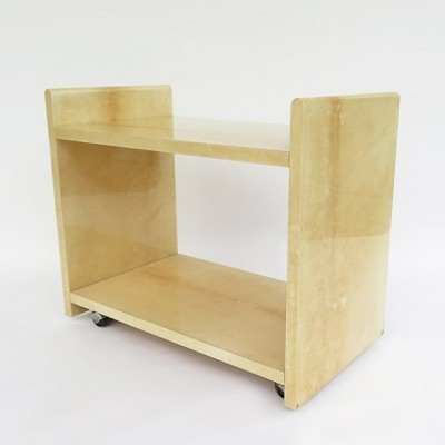 Serving trolley by Aldo Tura for Tura, 1970s