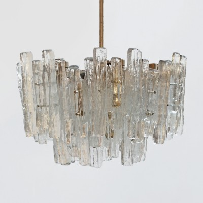 Chandelier hanging lamp by JT Kalmar for Franken KG Germany, 1970s