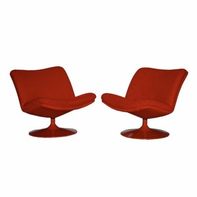2 Model 504 lounge chairs from the sixties by Geoffrey Harcourt for Artifort