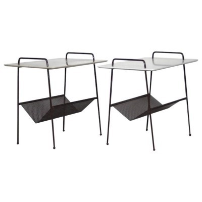 2 TM04 magazine holders from the fifties by Cees Braakman for Pastoe