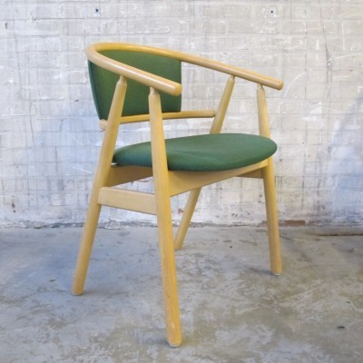 4 x K. Høffer Larse dining chair, 1980s