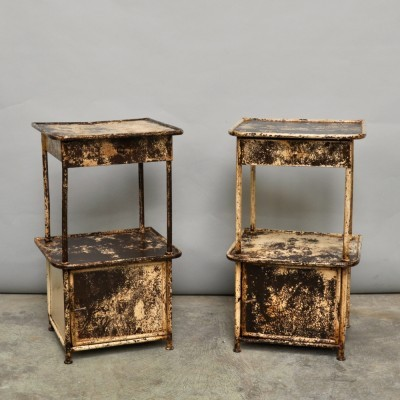 Night Stands from the twenties by unknown designer for unknown producer