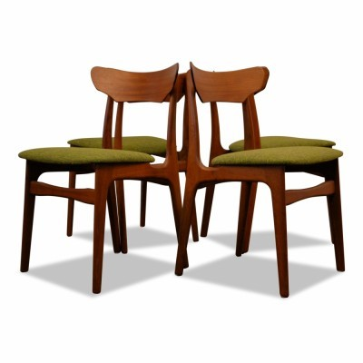 Set of 4 Schiønning & Elgaard dining chairs, 1960s