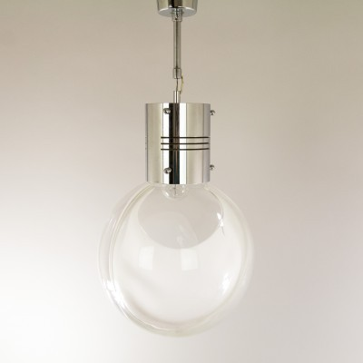Membrana hanging lamp from the sixties by Toni Zuccheri for Venini