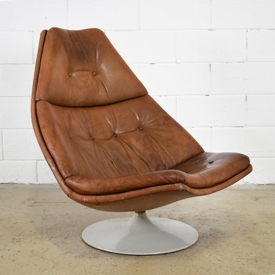 F591 lounge chair from the sixties by Geoffrey Harcourt for Artifort
