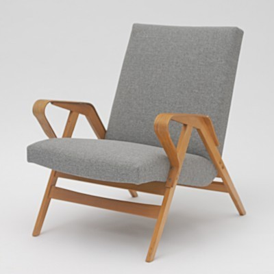 Set of 2 arm chairs from the sixties by unknown designer for Tatra Nabytok NP