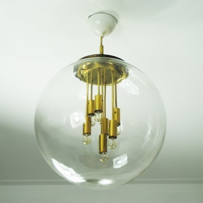 Hanging lamp from the sixties by unknown designer for Doria Leuchten