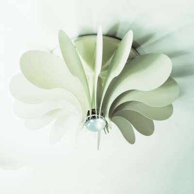 Bolide ceiling lamp from the seventies by Hermian Sneyders de Vogel for Raak Amsterdam