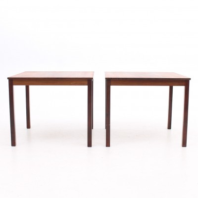 Set of 2 side tables from the seventies by unknown designer for unknown producer